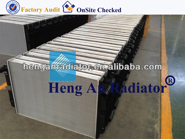 Plastic Tank Radiator for truck