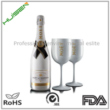 wedding white plastic goblet 500ml champagne moet chandon