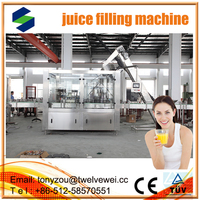 Orange Juice Making Equipment for All Kinds of Concentrated Juice automatic 3 in1 juce filling machine