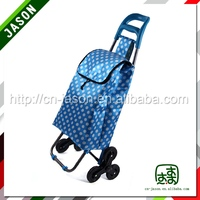 Promotional travel bag luggage rolling backpack