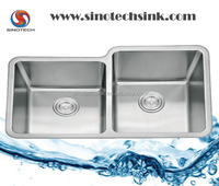 Double Basin Stainless Steel Undermount Kitchen Sink