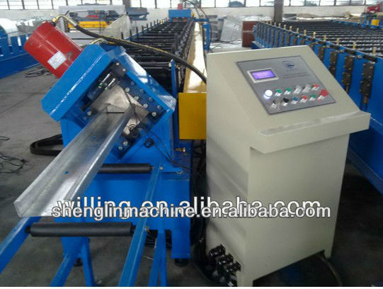 Roll forming machine for production of CD 60 profile for fastening gypsum plaster board