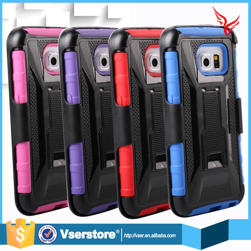 4 Styles Future Armor Hybrid Case Military 3 in 1 Combo Cover For Samsung Galaxy Note 4 S4 Stand Case with Belt Clip