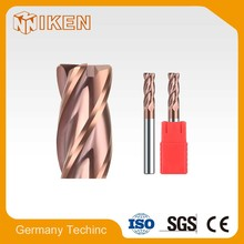 With best price 4 flutes Corner Radius End Mill/Milling Cutter/Cutting Tool