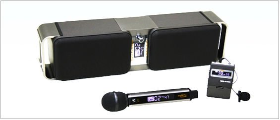 digital microphone set with speaker