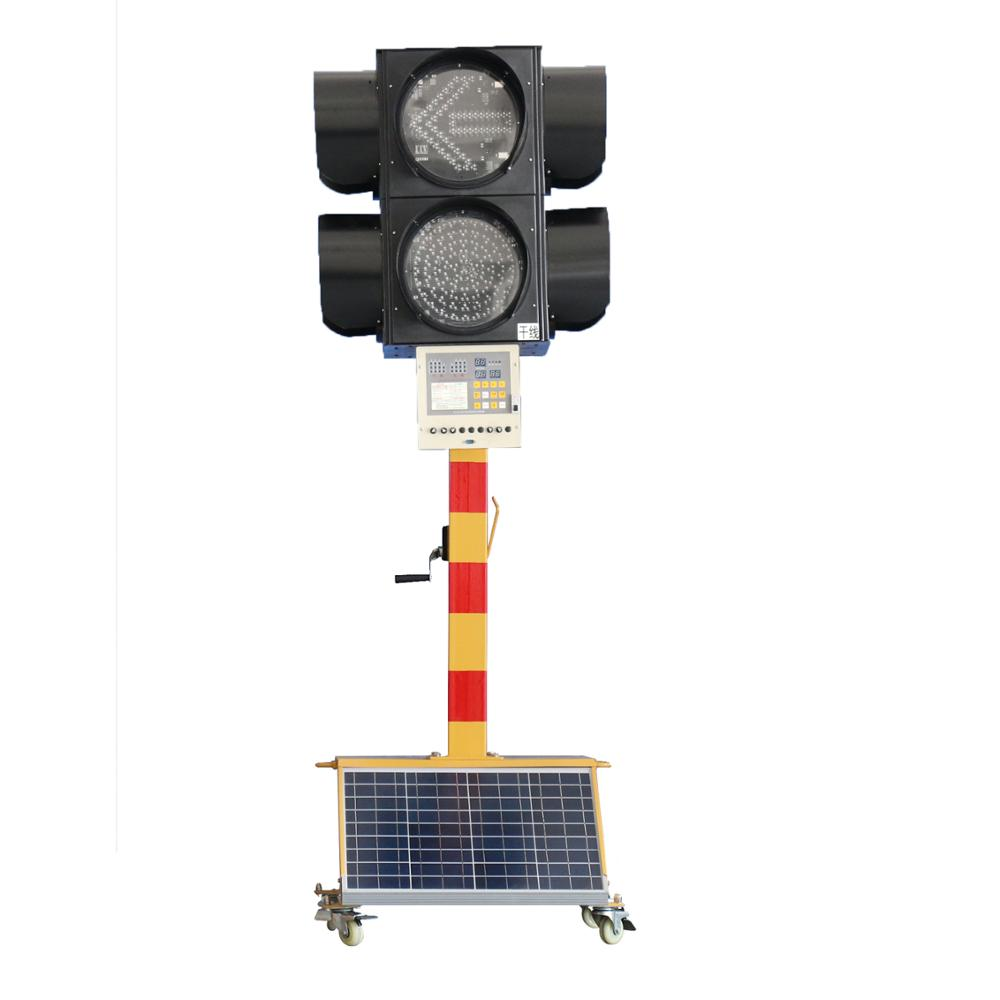 Chinese road beacon light solar tube light central control traffic light