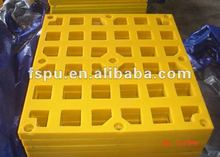 PU/polyurethane screen mesh with square opening