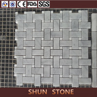 Popular Basket Weave Mosaic Tiles use for Building Construction