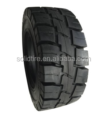 hot sale 23*9-10 with rims industrial forklift solid tyres