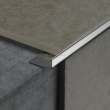 Factory supply l shaped chrome tile edge trim