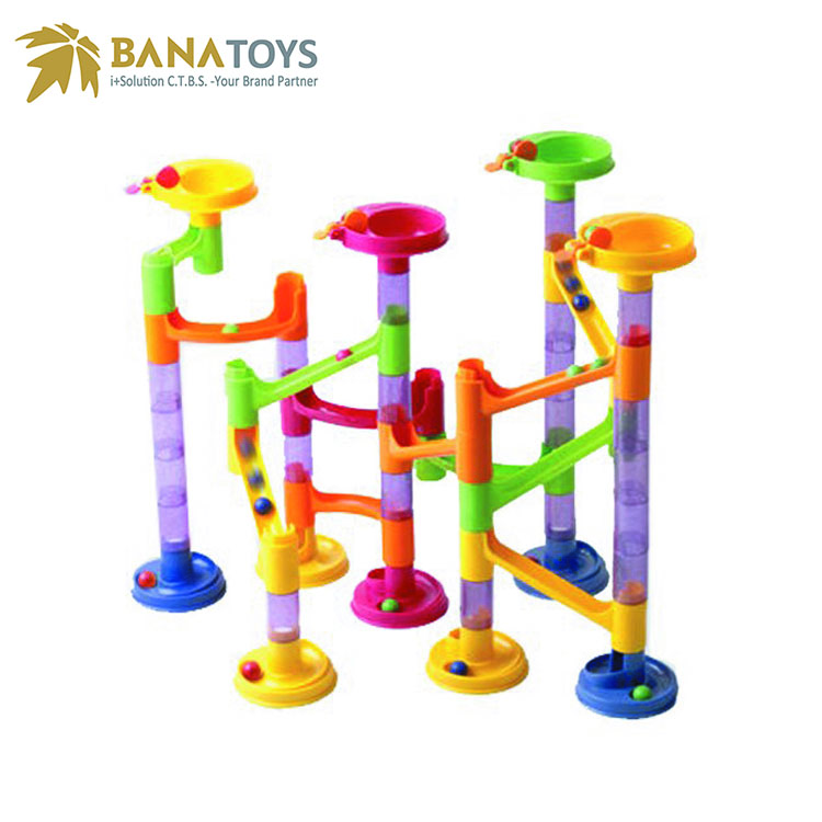 Educational <strong>games</strong> for kindergarten assemble marble run toys