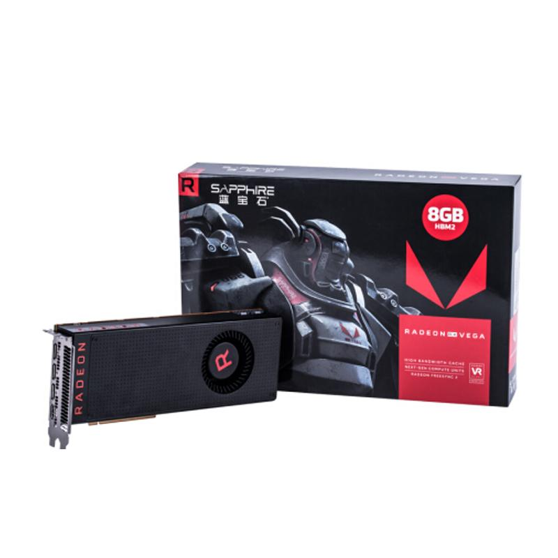 Sapphire Radeon RX Vega 64 8GB Graphics Cards Suitable for Mining ETH Bitcoin