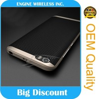 wholesale cell phone case carbon fiber bumper case for iphone 6 s