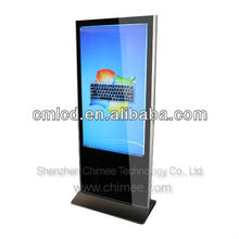 55inch large monitor computer all in one floor standing desktop
