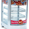 New Product Glass Food Warmer Display
