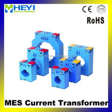 Single Phase Current Transformer Din Rail plastic case current transformer