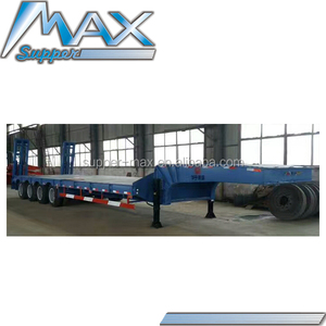 60 tons Low Bed Trailer Model SM464