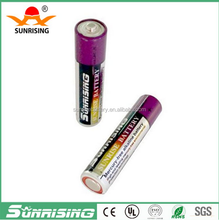 China Manufacture battery sunrising r6 aa battery 1.5v battery for toys