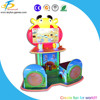 Funny children game machine,parent and children interactive game-west cowboy for shopping mall, game center