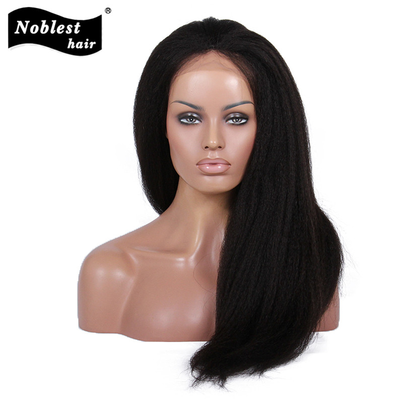 Glueless Kinky Straight Human Hair Bob Lace Wigs For Black Women Unprocessed Brazilian Full Lace Wigs/Glueless Lace Front Wigs