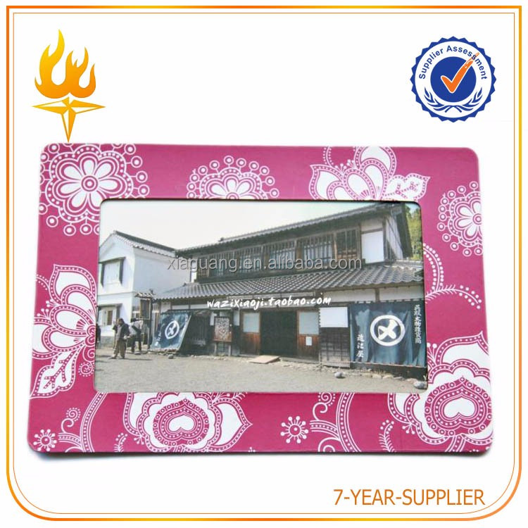 Factory Directly Provide Magnetic Photo Frame Fridge Magnet