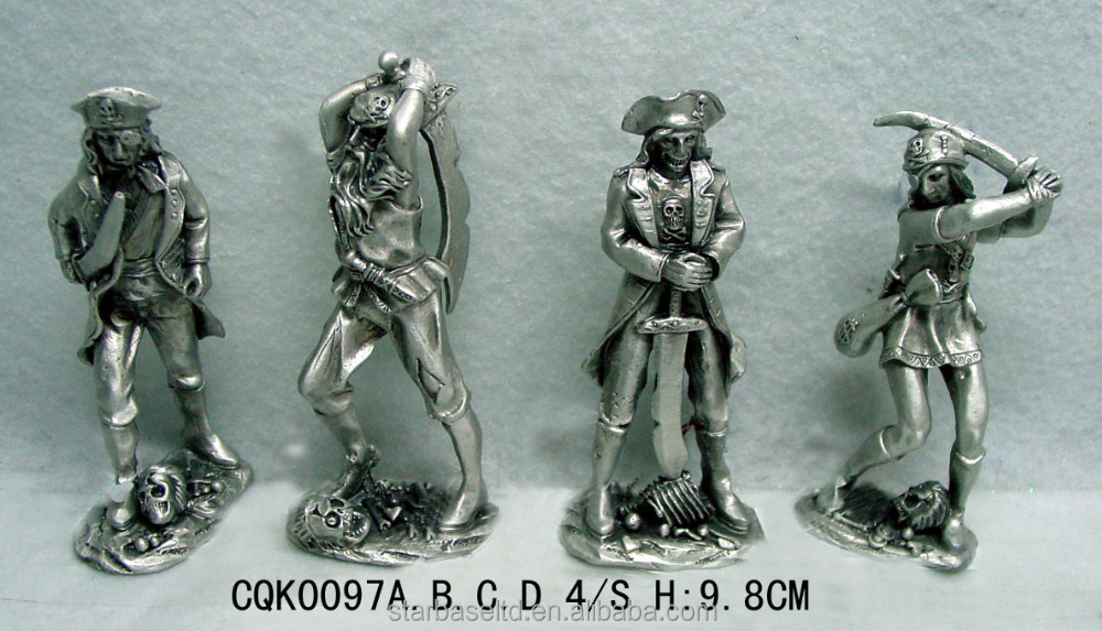 Roman knight soldier bronze antique collectible decoration medieval armor medieval knight