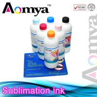 Zhuhai Aomya Quality products 1000ml dye Sublimation ink for Ricoh GC21/GC31/GC41 with high quality