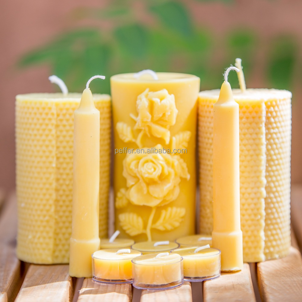 Массажная свеча своими руками из пчелиного воска 52