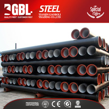 Good manufacturers k9 ductile iron 200mm diameter double wall steel pipe