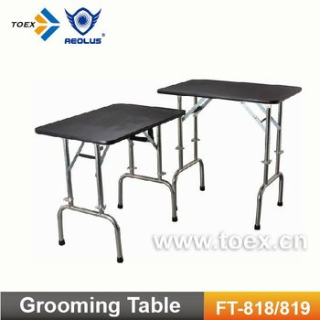 Height Adjustable Dog Grooming Table FT-818/819