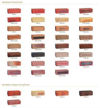 Sandblast facing bricks buy sandblast facing bricks - Tipos de ladrillos ...