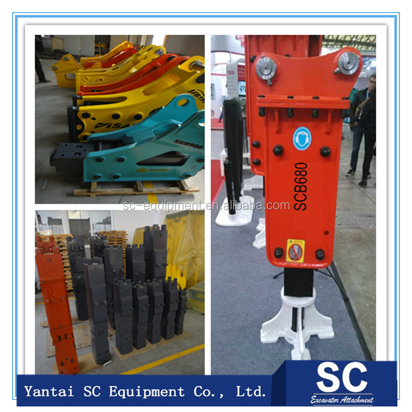 stanley hydraulic hammer fit for 25ton excavator High Quality Wholesale
