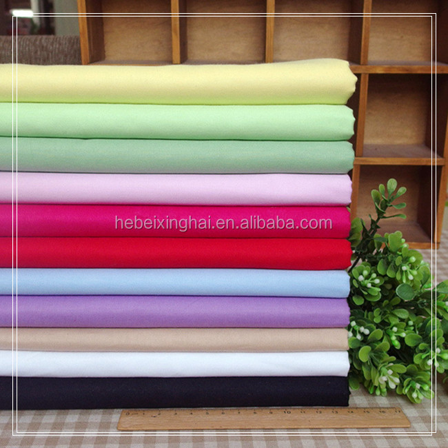 Plain Dyed TC 80/20 96X72 Pocket Fabric Lining Fabric