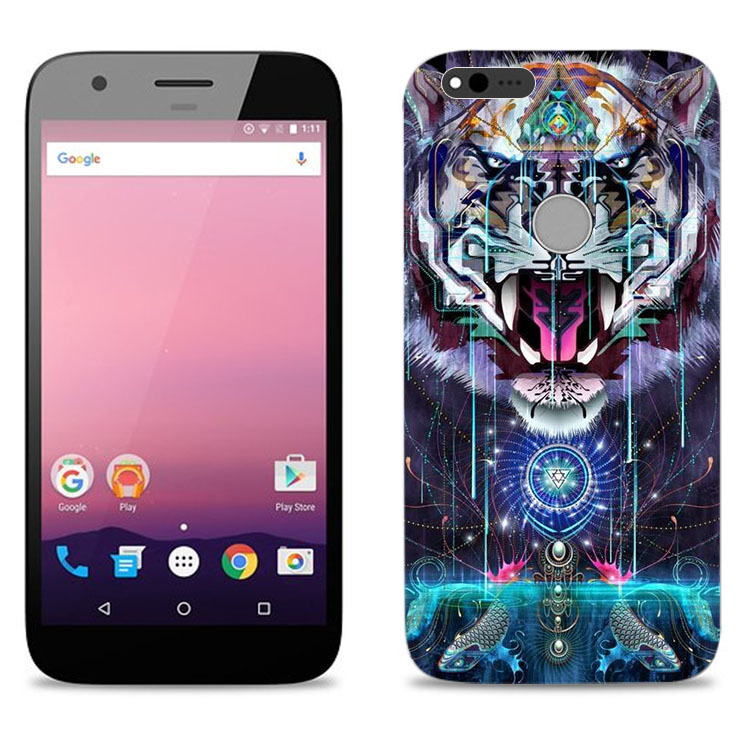 Painted NEW Plastic Print Hard Back Phone Case Cover For Google Pixel