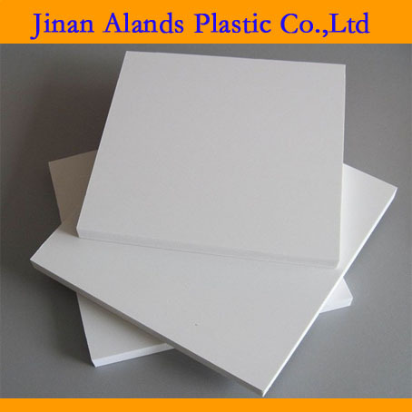 0.55 g/cm3 density 4x8 PVC board for furniture use