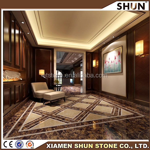 Calcite Marble Type and Brown Color chocolate brown marble/antique brown marble tile and slab/emperador dark marble floor tiles