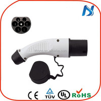 IEC 62196 EV plug and socket car charger for electric charging stations