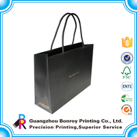 High End Quality Customized OEM Black Wholesale Shoe Bag Produced
