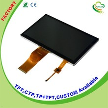 Yunlea 800x480px 7 inch tft lcd touch screen module display with I2C