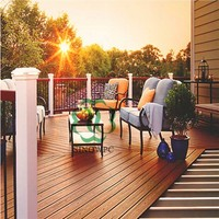 wood plastic composite decking, terrace decoration wpc flooring, China supplier, best price
