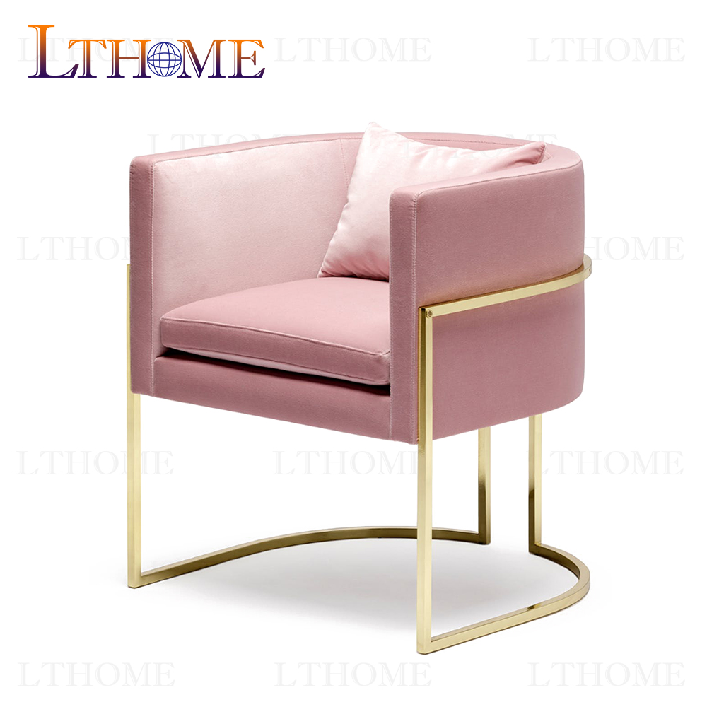 B370 New arrival gold color modern stainless steel dining <strong>chair</strong>