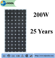 200Watt Solar/Photovoltaic mono pv solar panels with high quality