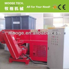 Good quality hard plastic shredder/rubber shredding machine for sale