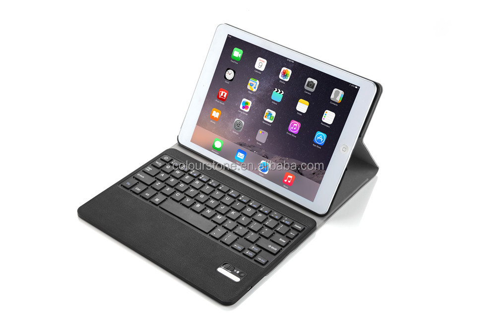 Premium PU leater tablet case for iPad Pro with Bluetooth Keyboard Function