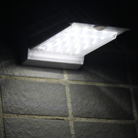Solar Powered LED Light with Motion Sensor Detection /Wall /Lights/Outdoor Lamp/Green Products