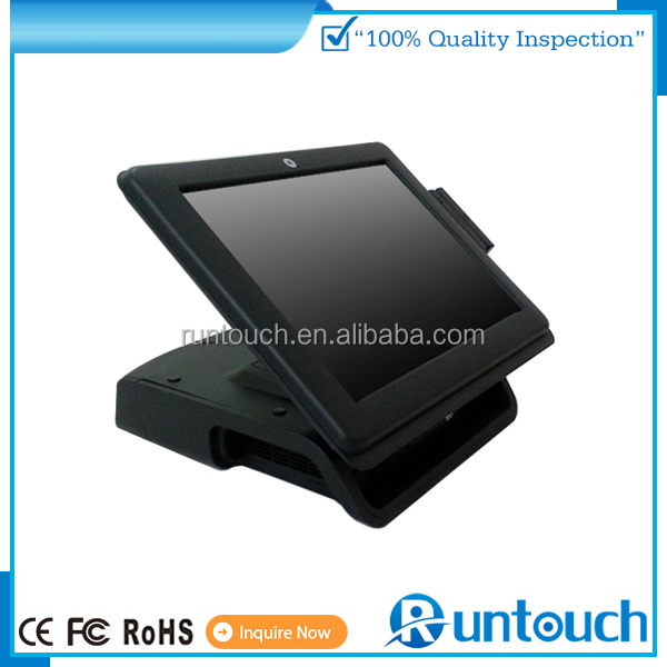 "Runtouch RT-6700A Brand new 15"" All In One Touch Screen Point of Sale POS terminal for retail restaurant hospital bar"