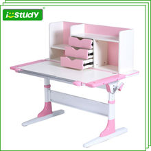 Ergonomic Kids Drawing Table/ Hight Adjustable Children Writing Desk/Kids Study Table