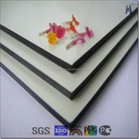 PE PVDF finished exterior wall panels outdoor partition panels folding partition wall panel