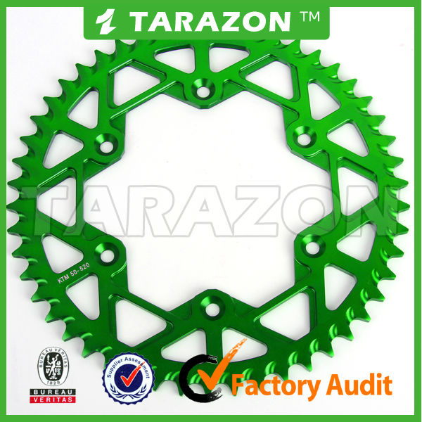 Special Offer CNC Aluminium 33-55 Teeth dirt bike Racing Rear CNC Sprockets for CRF250