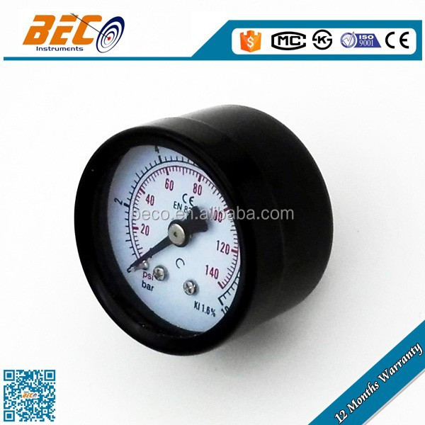 Economical wika same quality dial display gas manometer fuel pressure test gauge